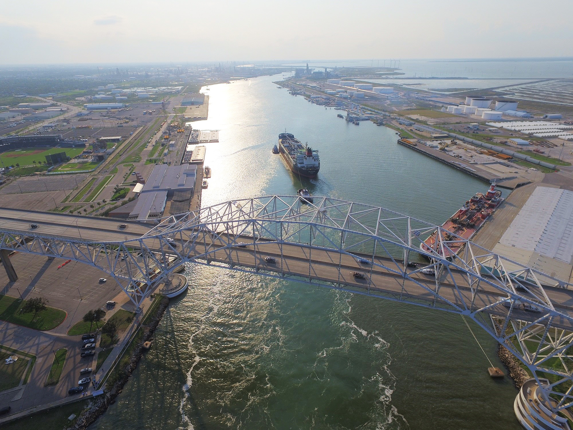 The Houston Ship Channel is going Biofriendly