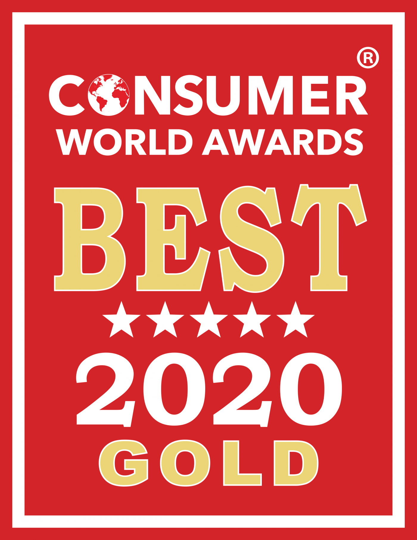 Biofriendly wins Gold in the 10th Annual 2020 Consumer World Awards®