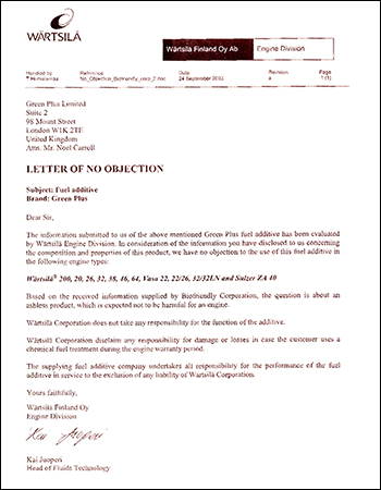 Wartsila-Letter-of-No-Objection-Thumb